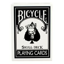 Magic Makers Bicycle Black Magic Skull Deck Cards Trick