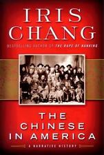 Iris Chang~THE CHINESE IN AMERICA~SIGNED 1ST/DJ~NICE COPY