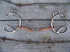 Bit - Sliding Six w/Copper Twist and Ss Dogbone