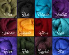 REGAL Palette Wool Roving Fiber 3 ozs./84 grams Needle Felting Spinning Soap