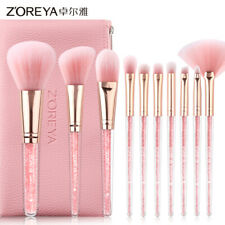 10pcs Makeup Brush Set Pink