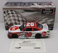 2018 CHISTOPHER BELL Autographed  #18 Rheem Richmond Win 1:24 Diecast 144 Made