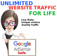 Website Traffic For Life No bots, proxies, or data centers only real traffic