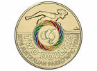 2016 $2 PARALYMPIC AUSTRALIAN RIO OLYMPIC GAMES TEAM COLOURED COIN