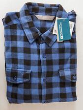 Mountain Warehouse Mens Fleece Shirt Navy Blue 3XL Size Outdoor Breathable