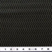 MODA -STURBRIDGE - BLACK WAVES by Kathy Schmitz - QUILT FABRIC by the ½ metre