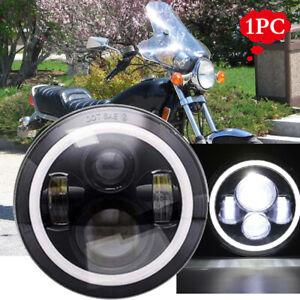 7 inch Round LED HEADLIGHT Fits Yamaha XJ XS 250 400 600 650 750 850 1100 Virago