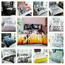 Soft Quilt Duvet Cover Bedding Set Bed Linen Single Double Super King All Sizes