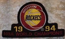 "Houston Rockets 1994 Champions NBA 4"" Iron On Embroidered Patch~USA~FREE Ship"