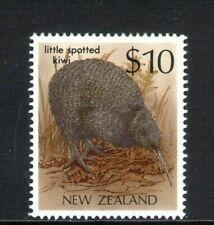 MINT 1989 NEW ZEALAND NZ $10 LITTLE SPOTTED KIWI STAMP MUH