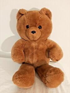 "Vintage 1986 Dakin Fun Farm Honey Jo Brown Bear 20"" Plush Stuffed No Tie"