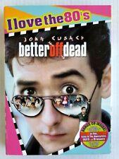 Better Off Dead (Dvd, 1985) + Slipcover New John Cusack