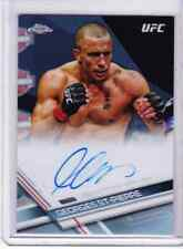 2017 Topps UFC Chrome GEORGES ST-PIERRE Auto Refractor 11/20 Champ!!!!