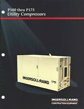 Equipment Brochure - Ingersoll-Rand P100 to P175 Utility Air Compressor (E5710)