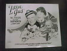 TILLIE AND GUS, orig MCA 8x10 [W. C. Fields, Alison Skipworth, Baby Leroy ]