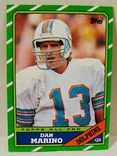 DAN MARINO-Topps 1986 Football Card #45-EX Condition-MIAMI DOLPHINS