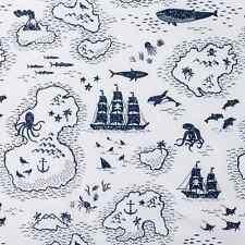 Pillowfort Microfiber Twin Sheet Set, Treasure Island Theme, New