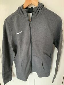 Nike BRAND NEW WITH TAGS grey youth unisex zip up hoodie, size XL