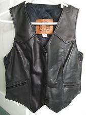 Kerr Ladies Leather Waistcoat,Slightly used UK 12, USA 10 Hell's Angels Rocker