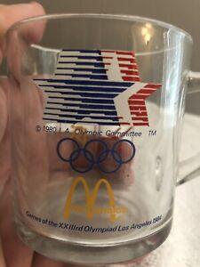 Vintage McD's 1984 Olympic Coffee Mug - RARE - Buy It Now