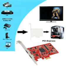 YK762H PCI-E Capture Card HD Video Grabber Video Capture For PC TV Box S7U8R