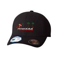 Flexfit Hats for Men & Women Trinidad Tobago Flag Embroidery Polyester