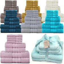 8er Set Handtuch Badetuch Badetücher Handtücher Gesichtstuch Großpack Baumwolle