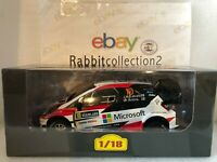 "DIE CAST "" TOYOTA YARIS WRC RALLY SWEDEN - 2017 J. M. LATVALA "" SCALA 1/18"