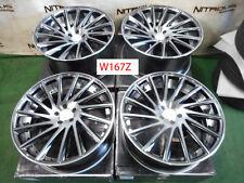"""22"""" Road Force RF16 Concave Staggered Set Jaguar 2009+ XJ XJ8 XJL Wheels W167Z"""