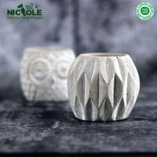 Nicole New DIY Soap Molds Flower Vase Silicone Concrete Molds Gardon Pot Molds