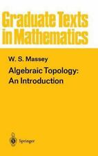 Algebraic Topology: An Introduction (Graduate Texts in Mathematics)-ExLibrary