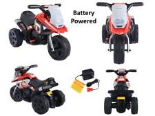 Kids Ride On Motorcycle Battery Powered 3 Wheel Toddler Electric Riding Toy Bike