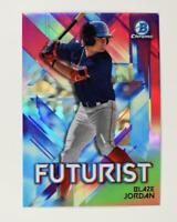 2021 Bowman Futurist Chrome Base #FUT-BJ Blaze Jordan - Boston Red Sox