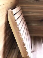 Sauna backrest western red cedar, 16 x 19 inches