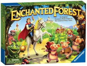 22292 Ravensburger Enchanted Forest Hunt Board Game Children Kids Age 4yrs+
