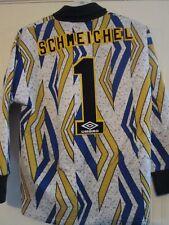 Manchester United 1995-1996 Schmeichel Goalkeeper Football Shirt Small 39723