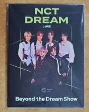 NCT DREAM Beyond LIVE Beyond the Dream Show OFFICIAL GOODS POSTCARD BOOK SEALED