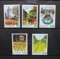 1996 New Zealand~Scenic Gardens~Unmounted Mint~Stamp Set~ UK Seller~