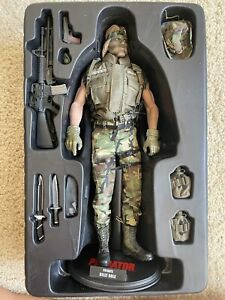 1/6 Scale Rare Hot Toys MMS73 Predator Private Billy Sole Action Figure 12 inch