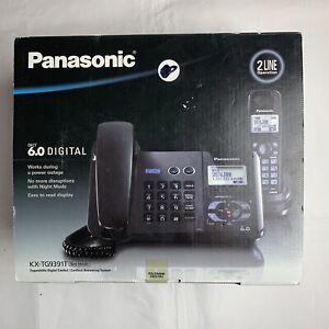 NEW Open Box Panasonic KX-TG9391T 1.9 GHz 2 Line Phone With Handset
