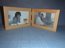 "Innovations by Meijer Picture Frame Holds 2 6"" x 4"" Pictures Connected Frames"