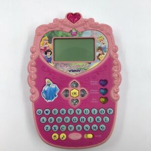 Vtech Disney Princess Magical Learn & Go Hand Held Electronic Game Tested 4-7 yr