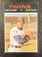 1971 Topps Rod Carew #210 VG-EX Minnesota Twins HOF