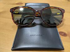Saint Laurent Paris Womans Oval Designer Sunglasses (Brand New) SL 317 F 003 55