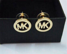 2016 letters with latest drilling hollow out M@@K fashion earrings m
