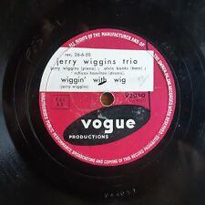 Lot de 3 disques 78 T - jazz - marques VDISC/VOGUE/GRAMOPHONE