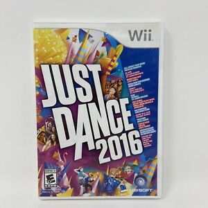 Just Dance 2016 (Nintendo Wii, 2015) Tested & Authentic
