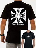 Camiseta hombre west coast choppers T shirt men Jesse James motorcycles biker