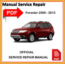Subaru Forester 2009 2010 2011 2012 2013 Factory Service Repair Workshop Manual
