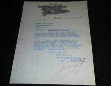 Rubsam & Horrmann Atlantic Brewery, Stapleton L.I. New York Vintage Letterhead